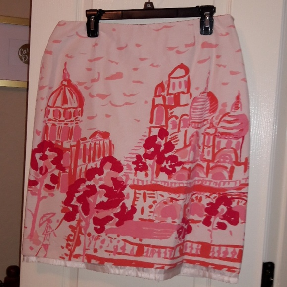 kemp and company Dresses & Skirts - Pink French Style Mid-length Skirt